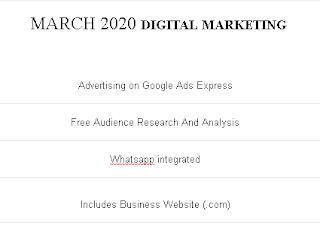 DIGITAL MARKETING - MARCH 2020