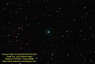 cometa C/2020 T2 Palomar