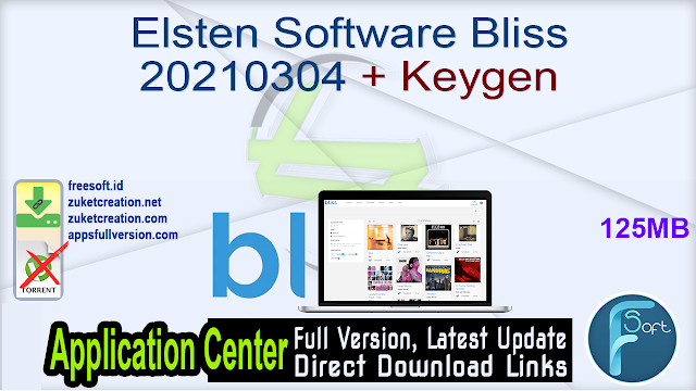 Elsten Software Bliss 20210304 + Keygen