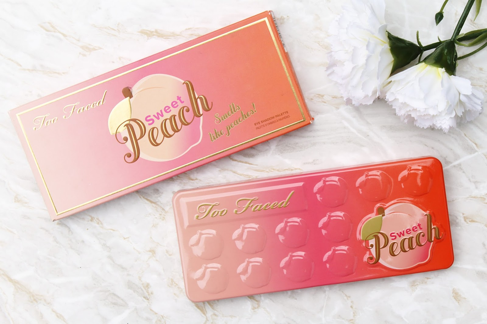Too Faced Sweet Peach Palette Review with Swatches
