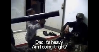 Watch: Hamas terrorists train 7-year-old boy to launch anti-tank missile at Israel