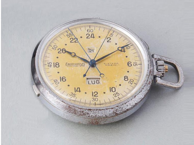 "Eberhard ""Sistema Magini"" pocket watch"
