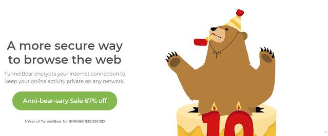 برنامج TunnelBear VPN