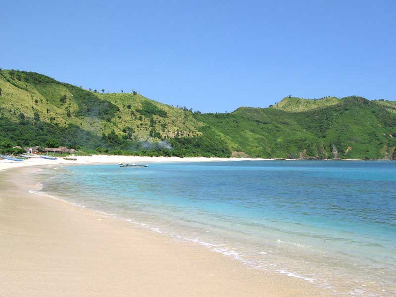 Rute Lokasi Mawun Beach Lombok