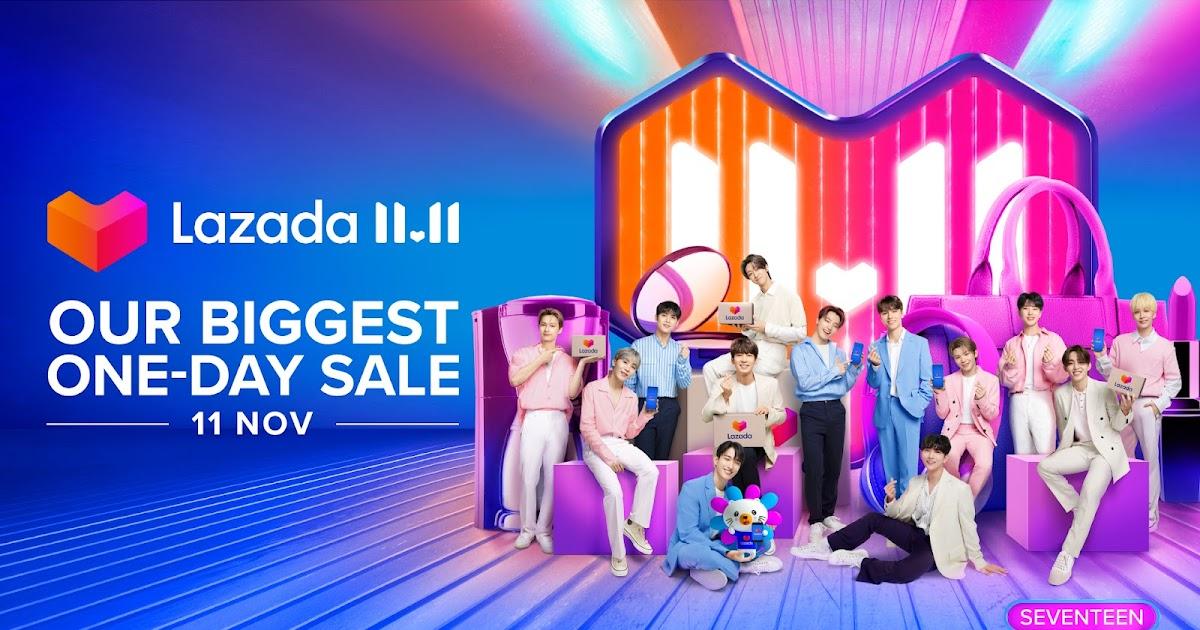 Leading K-pop Superstars SEVENTEEN Join Lazada as Regional Happiness Ambassadors
