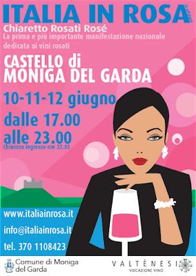 Italia in Rosa riflettori su Chiaretto e Rosè 10-11-12 Giugno 2016 Moniga del Garda (Bs) 1