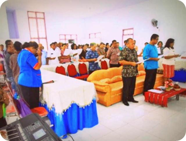 Yayasan Pembinaan Pendidikan Kristen (YPPK) Dr J. B. Sitanala Tansel Gelar Raker Tahunan