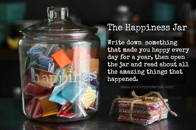 The Happiness Jar from Mommypotamus~ Such a great idea for the classroom!