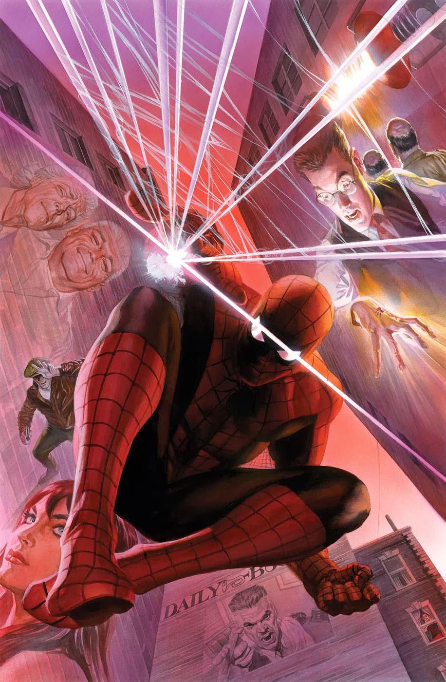 Bronze Age Babies: Alex Ross Does Amazing Spider-Man #1