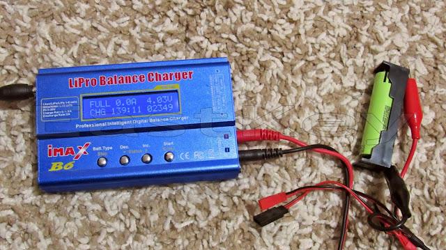 imax b6 тест аккумулятора 18650