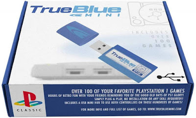 True Blue Mini 64gb playstation classic 101 juegos