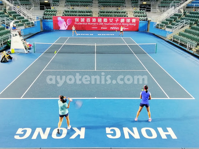 Aldila Sutjiadi/Paige Hourigan Jejakkan Kaki ke Perempat Final ITF Hong Kong 25k