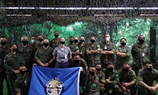 Manipulação grossseira  do Exército com 'máscaras falsas' viraliza nas redes