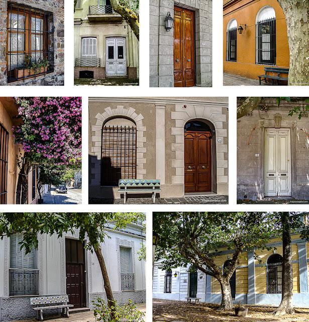 fachadas de Colonia del Sacramento, Uruguai