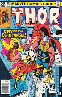 Thor #305, the return of Gabriel