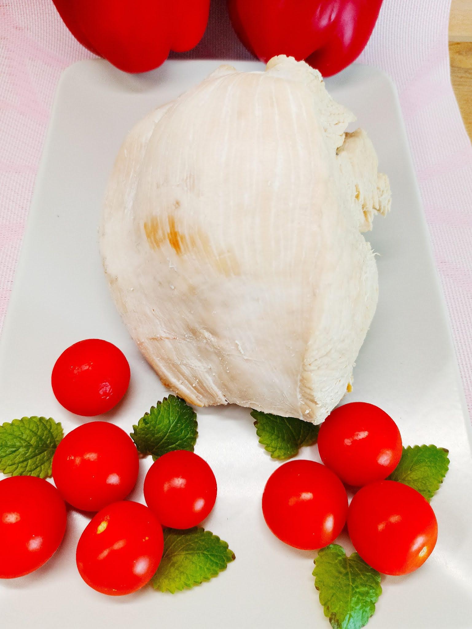 Pierś z indyka gotowana w majonezie