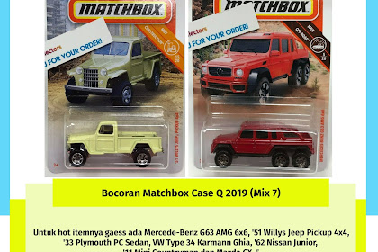 Bocoran Matchbox Case Q 2019 (Mix 7)