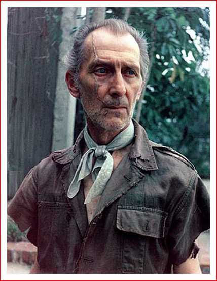Peter Cushing en Shock Waves