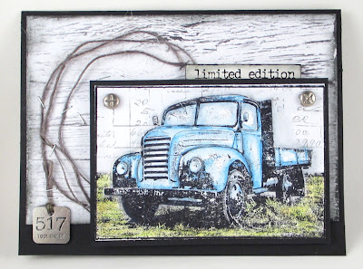 Darkroom Door Old Truck Wendy Vecchi Watering Can EP for The Funkie Junkie Boutique