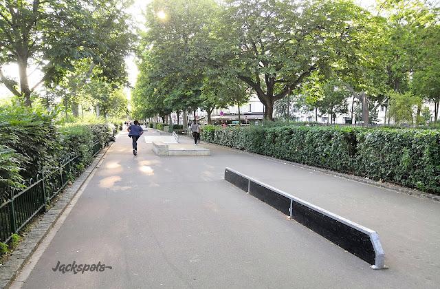 Skatepark Vincennes Nation Paris