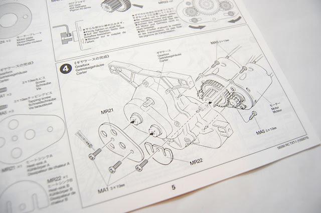 Tamiya TXT-1 owners manual