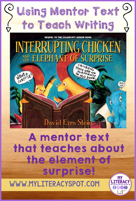 #mentortext #elementofsurprise #writingconclusions #surpriseendings