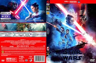 Caratulas Mountain Star Wars El Ascenso De Skywalker Star Wars The Rise Of Skywalker 2019 Dvd Cover