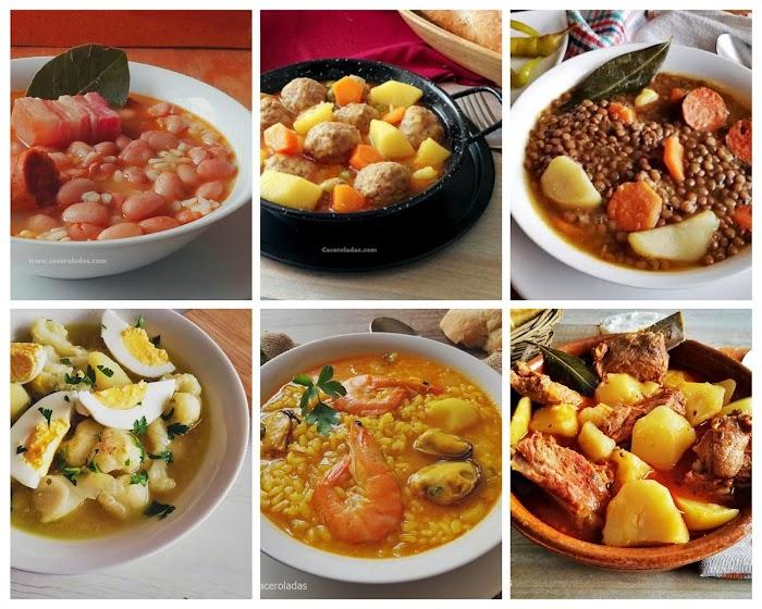 6 comidas completas de un solo plato