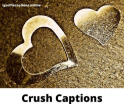 200 + Crush Captions About Crushing On Him / Her