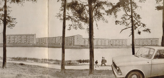 1960-е годы. Рига. Жилые дома на Югле