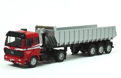 coleccion camiones articulados, camiones articulados 1:43, Mercedes-Benz SK 1948 camiones articulados