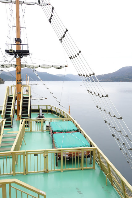 Lake Ashi Hakone Boat Ride