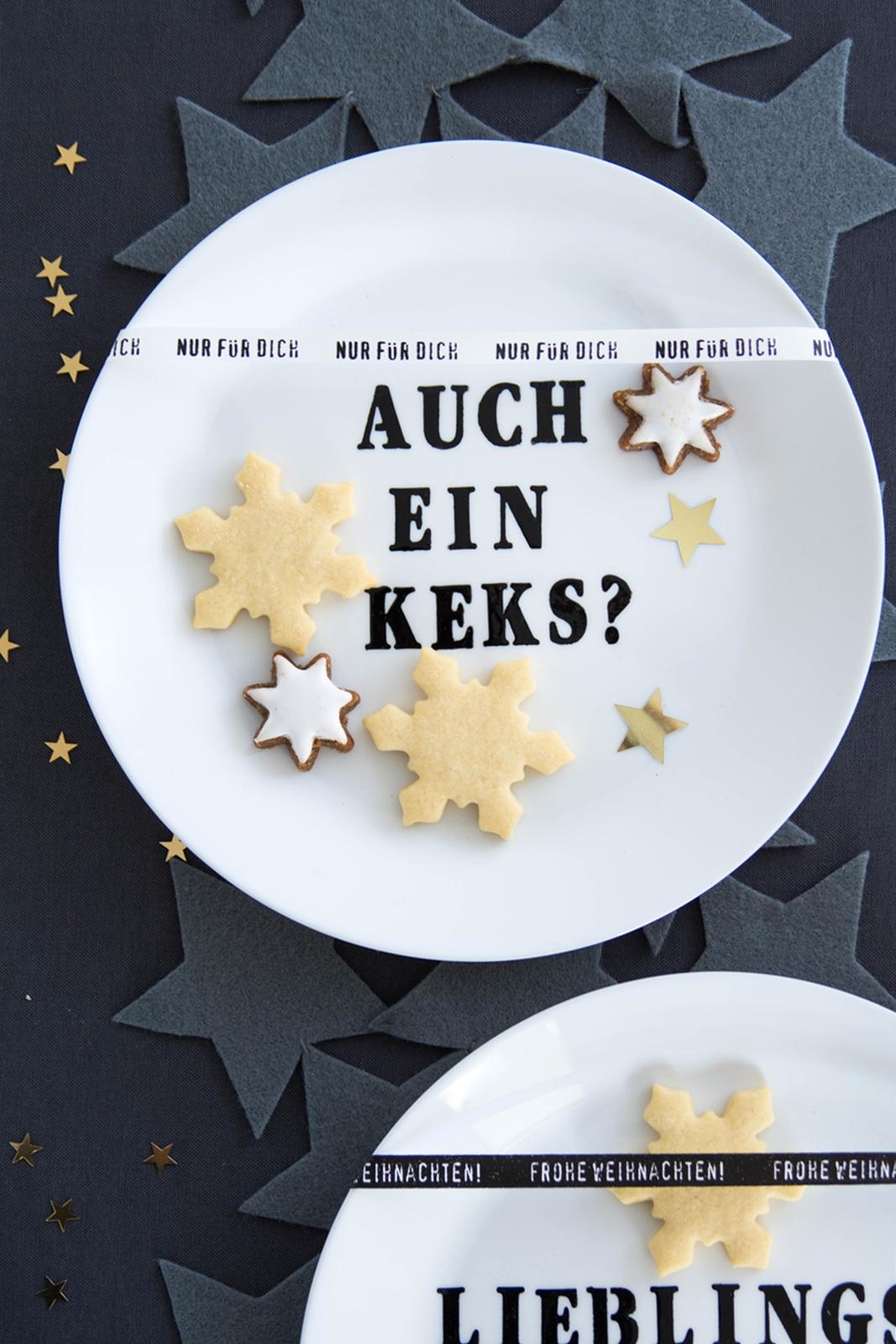 kreativ-adventskalender:türchen #7] diy keks-teller, Wohnzimmer dekoo