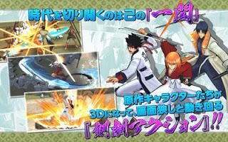 Download game rurouni kenshin samurai v1.0.7 apk latest  update