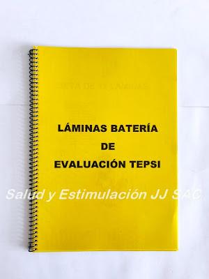 cuadernillo laminario para test tepsi