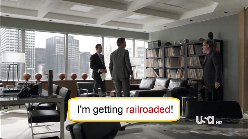 Arti Railroaded