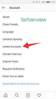 Cara Agar Akun Instagram Tidak Terhubung Dengan Akun Facebook Atau Kontak