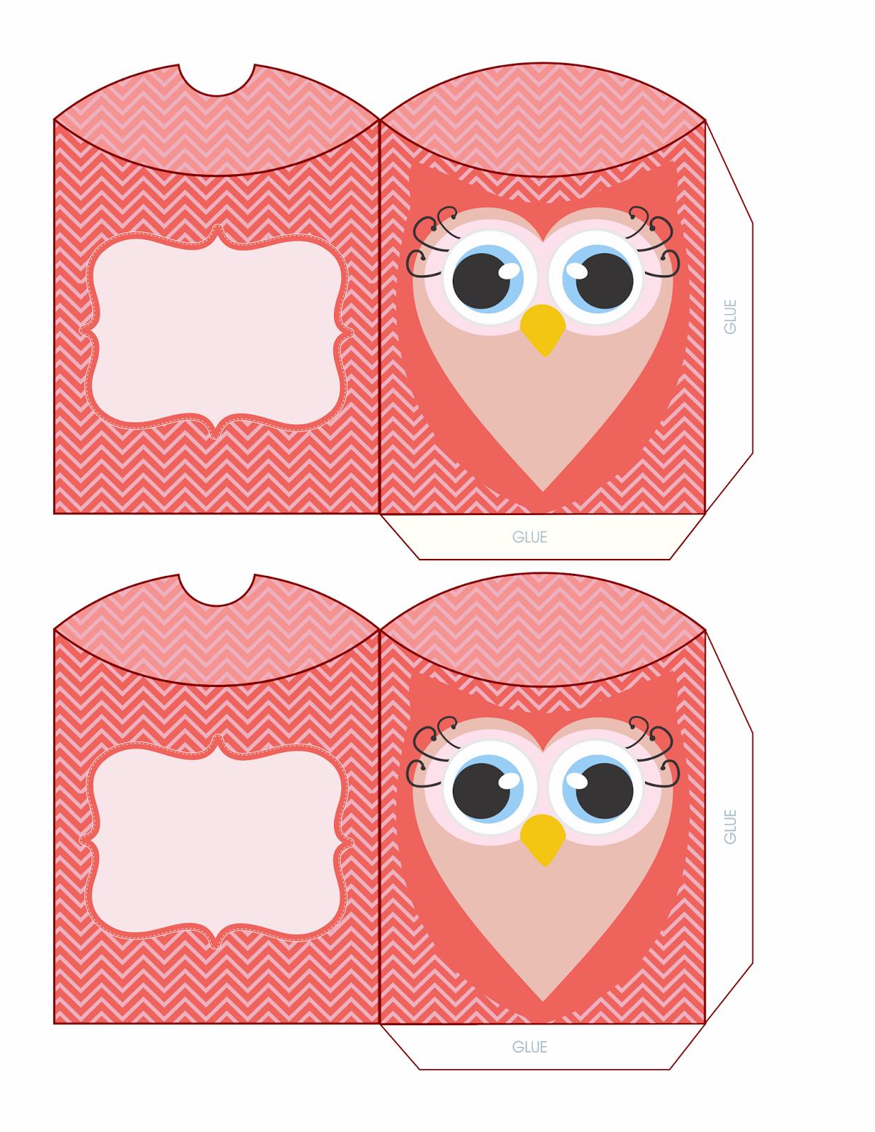 Valentine Owl Template Golfclub