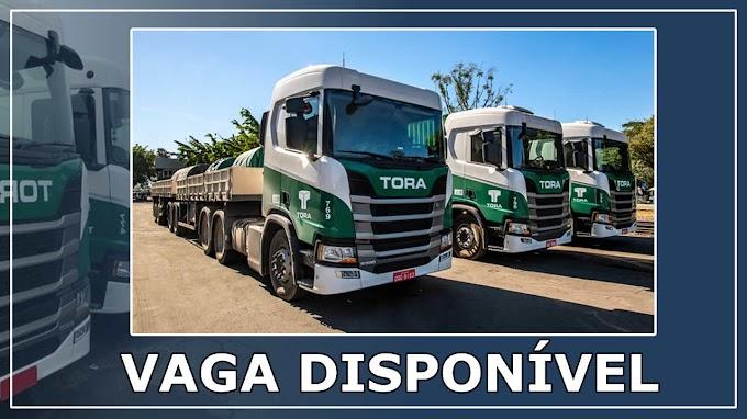 Transportadora Tora abre vagas para Carreteiro