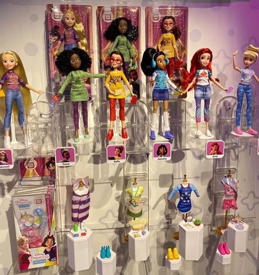 Серия диснеевских кукол Comfy Princess новые игрушки 2020