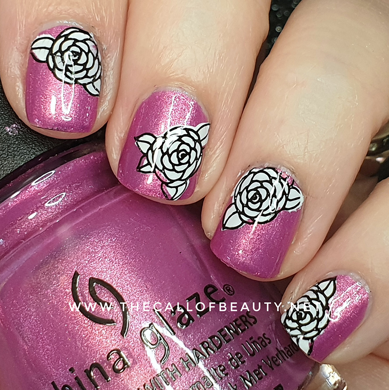 Nail Art of the Day: Double Stamping
