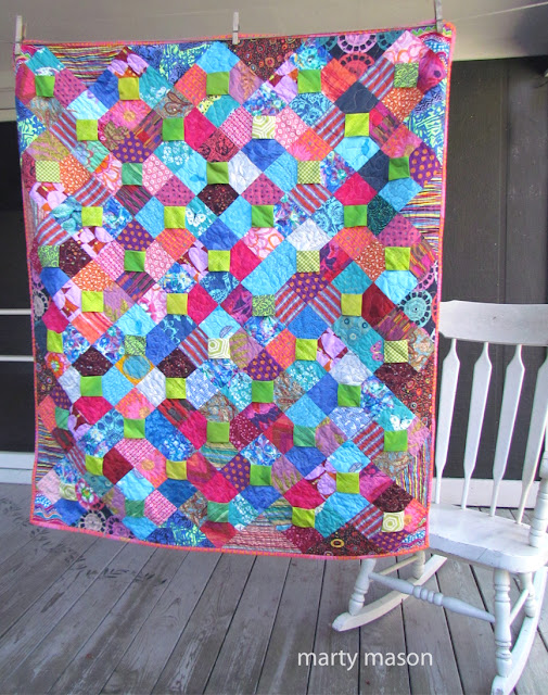 3-dimensional bow tie quilt - Marty Mason