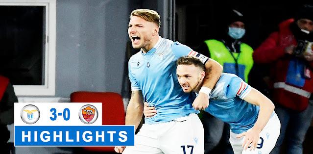 Lazio vs Roma Highlights