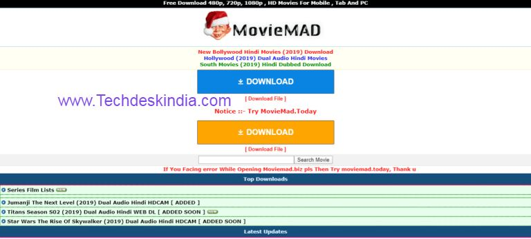 MovieMad - Bollywood, Hollywood & South Movies Download