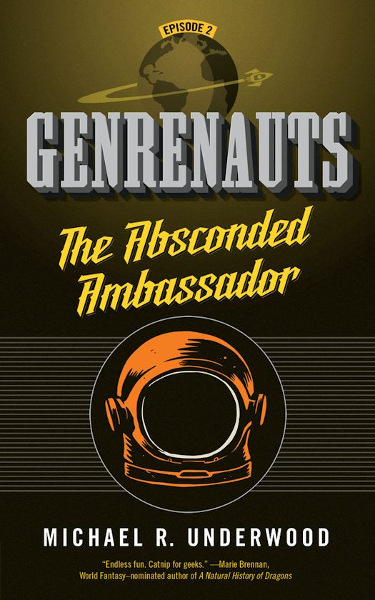 The Data Disruption (Genrenauts Episode 0) by Michael R. Underwood
