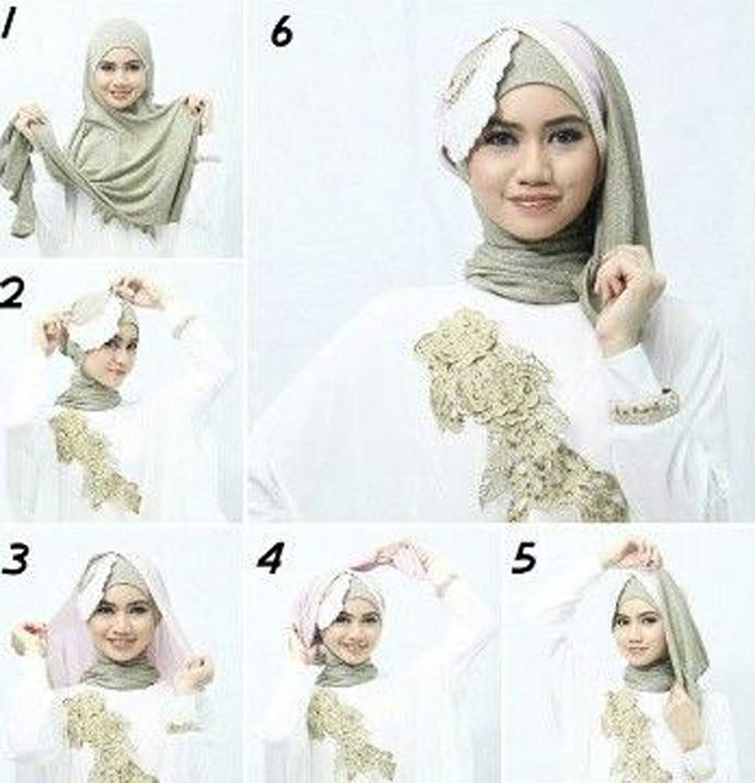 gambar tutorial hijab wisuda 2018 | tutorial hijab
