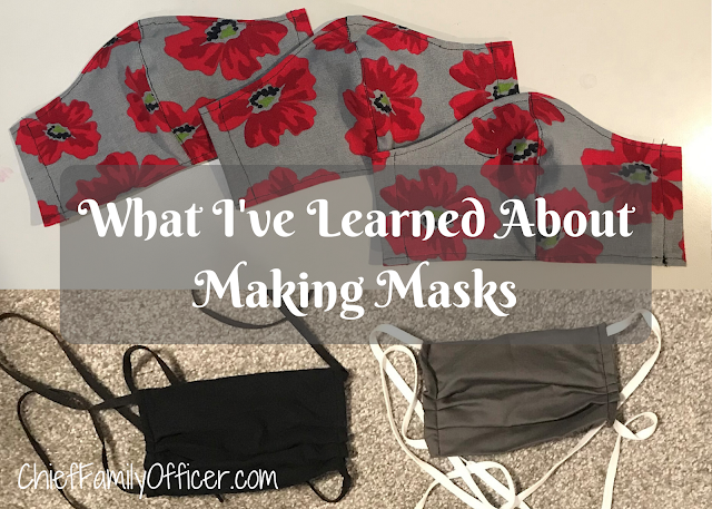 What I've Learned About Making Masks: A Beginner's Perspective