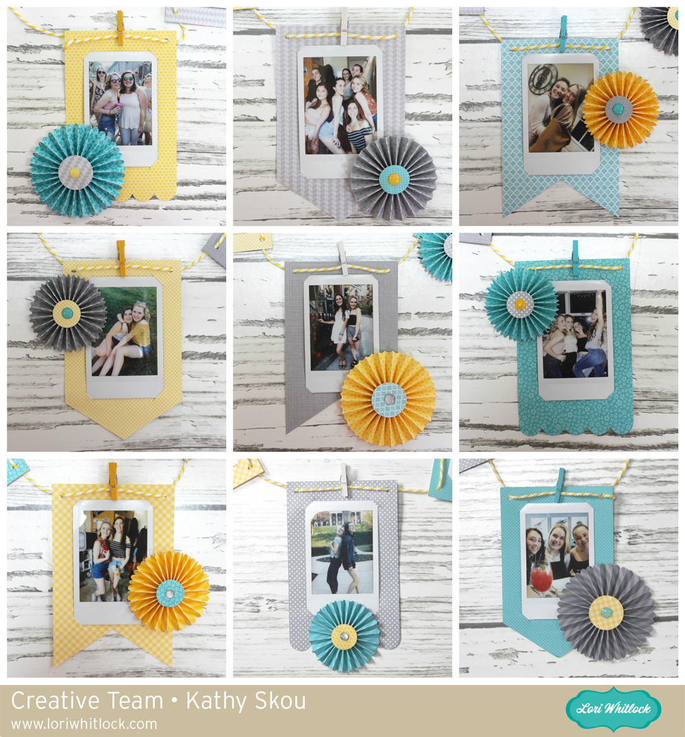 My Happy Place: Lori Whitlock: Instax Photo Banner Tutorial