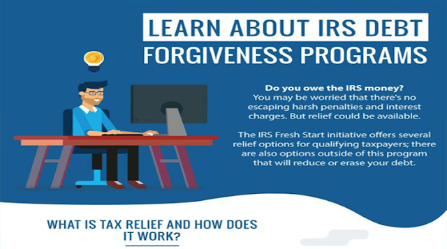 Learn About IRS Debt Forgiveness Programs