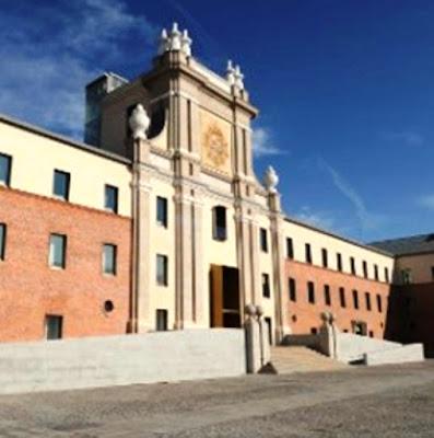 Centro cultural Conde Duque, sede de la Biblioteca Histórica Municipal de Madrid
